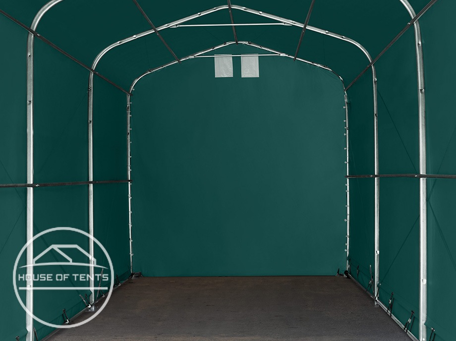Small and large portable garages suitable for every storage purpose