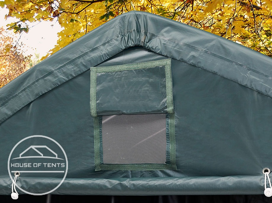 High-quality PE and PVC tarpaulins for robust utility tents