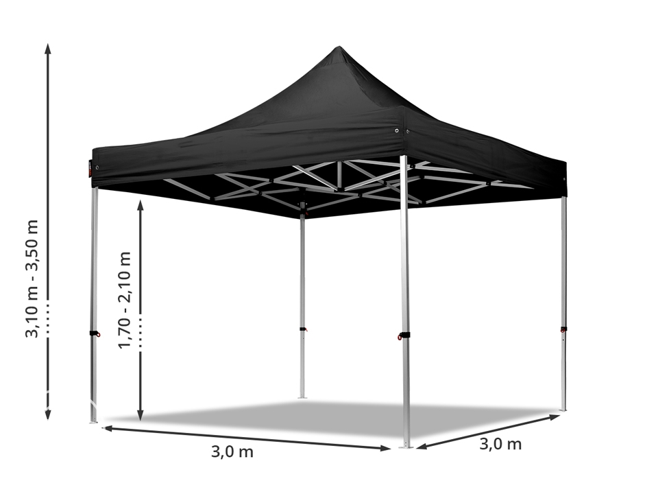 Dimensions of a gazebo.